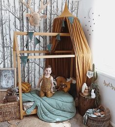 Amazing A dream kid's bedroom - PLANETE DECO has homes world - Best Decoration ideas for the home Kids Bedroom Dream, Baby Bedroom, Baby Boy Rooms, Nursery Room, Girls Bedroom, Childrens Bedroom, Nursery Ideas, Bedroom Ideas, Ideas Habitaciones