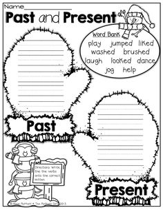 Adjectives Printable Worksheet. Kindergarten, First and