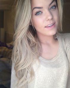 Light ash blonde hair