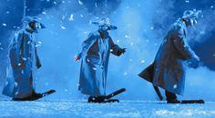 scene from Snow Show Slava Polunin