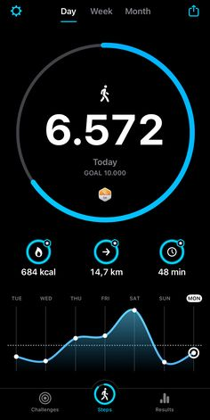 Just a normal day .. #StepsApp #EveryStepCounts Day