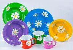 Hand painted tableware from Lumela afrika - 9371