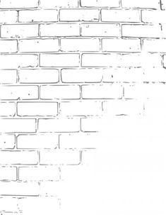 brick drawing Brick Wall Drawing, Draw Bricks, Texture Drawing, Gustav Klimt, Drawing Sketches, Pencil Drawings, Art Drawings, Sketching, Graffiti