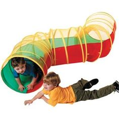 Your kids can pretend play with this toy, or you can organize some indoor or outdoor obstacle course, or active party games with the Zig Zag Play Tunnel by Schylling. Kids Play Tunnel, Pop Up Tunnel, Pop Up Play, Kids Pop, Toys R Us Canada, Outdoor Toys, Pretend Play, Educational Toys, Zig Zag