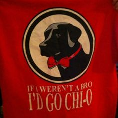 For all those baby boys out there : If I weren't a bro I'd be a Chi O