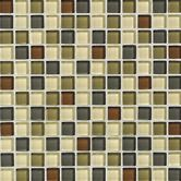 "Found it at Wayfair - Glass Reflections 12"" x 12"" Glossy Mosaic Tile Blend in Urban Camouflage"