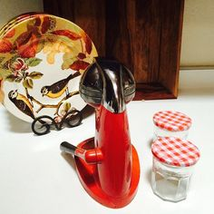 Juice King Red Farmhouse Decor 1930's Juicer JK35 by ACertainFeel