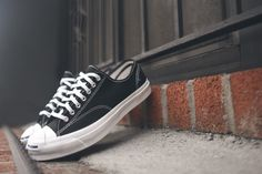 Converse Jack Purcell Signature - Black / White   Kith NYC