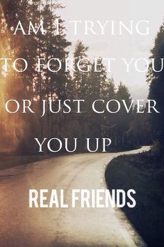 Real Friends - Cover You Up
