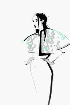 18 New ideas fashion ilustration croquis behance Illustration Mode, Fashion Illustration Sketches, Fashion Design Sketches, Fashion Sketchbook, Portrait Illustration, Art Illustrations, Fashion Art, Trendy Fashion, Fashion Shoes