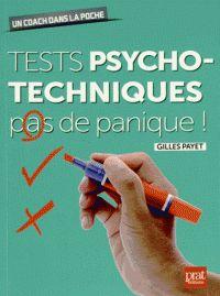 Un énième ouvrage sur les séries de tests psychotechniques ? Non ! Une méthodologie simple et efficace pour vous rendre autonome et performant durant les épreuves ! COTE : 164.80 PAY