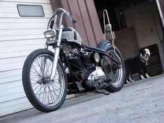 "Custom Harley-Davidson XLH 1000 Sportster ""Ironhead"" rigid chopper 