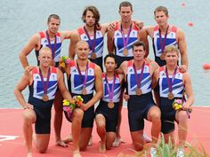 Great Britain's men's eight won rowing bronze after giving the powerful German crew a real scare.