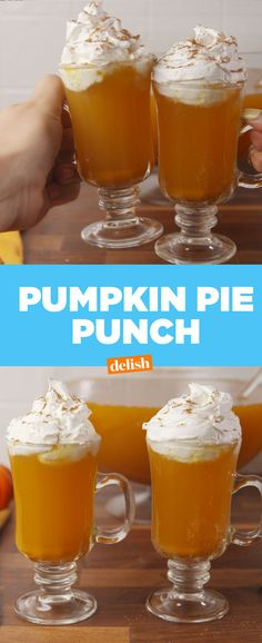 Pumpkin Pie Punch Is Giving Us Major Fall Vibes