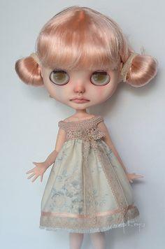 Dress for Blythe or similar 1/6 dolls от ByArtemis на Etsy
