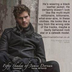 Bad Boy from wrong side of tracks or a catwalk model??? lol #fsog