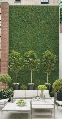 amenagement terrasse exterieur avec mobiliers d'extérieur d'haute qualité