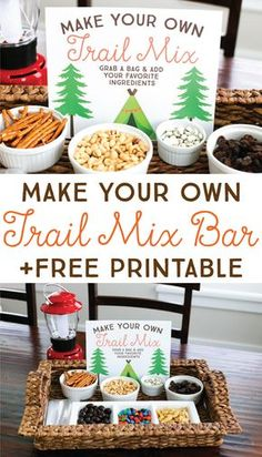 sale retailer 254de f869e Your kiddos will love this easy DIY Trail Mix Bar. It s perfect for  snacktime,