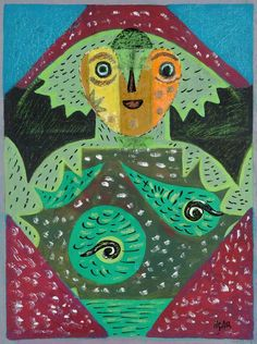 Eileen Agar, and the masterpiece in the attic | Art UK Muse Art, Art Society, Agar, Art Uk, The Masterpiece, Cubism, The Magicians, Lovers Art, Contemporary Art