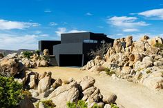 Gallery of Black Desert House / Oller & Pejic Architecture - 18