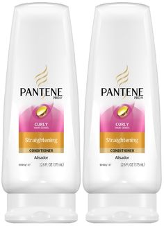 Pantene Pro-V Curly Hair Straightening Conditioner - Free Shipping