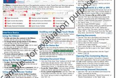 Microsoft 2013 Quick Reference Guide Get my FREE mini course here!