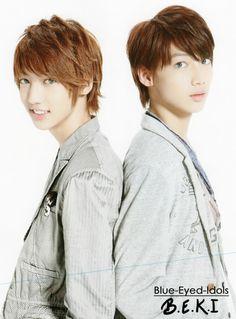 BLUE EYED K-POP IDOLS: #392  Jo Twins (Youngmin & Kwangmin) - Boyfriend