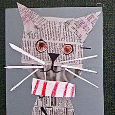 idée papier collage