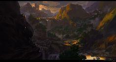 The sunset twilight, G liulian on ArtStation at https://www.artstation.com/artwork/the-sunset-twilight