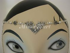 Check out the Silver Plate Floral Headpiece headband circlet with Diamante *NEW*  http://www.ebay.com.au/itm/Silver-Plate-Floral-Headpiece-headband-circlet-Diamante-NEW-/160877653555?pt=AU_HandcraftedJewellery=item25750e2e33  Just A$28.95