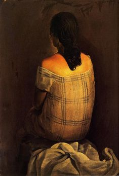 Figure from the Back (1925) by Salvador Dalí
