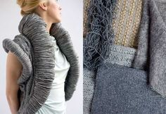 'Variations on greys' from Li Edelkort on Trend Tablet