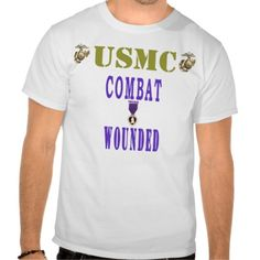 COMBAT WOUNDED T-SHIRTS