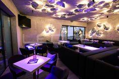 LED osvetlenie v kaviarni Esencia v Trnave