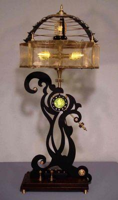 Steampunk Inspired Lighting   #Art Donovan