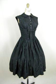 Evening dress neiman marcus 1950s