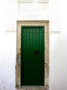 Tangier Green Door