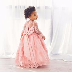 http://babyclothes.fashiongarments.biz/  Sweet Pink Lace Flower Girls Dresses Long Sleeve Formal Girls Wedding Party Dress With Bow Knot A Line Floor Length Holy Wear, http://babyclothes.fashiongarments.biz/products/sweet-pink-lace-flower-girls-dresses-long-sleeve-formal-girls-wedding-party-dress-with-bow-knot-a-line-floor-length-holy-wear/,          Welcome to our store   We sell all kinds of women's Prom Dresses, Evening Dresses, Wedding Dresses, Homecoming Dresses, Cocktail Dresses…