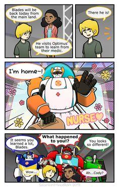 Rescue Bots - Nurse Blades by SolarGirlMina on DeviantArt