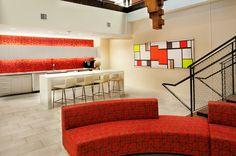 Paric Corporate Headquarters St. Louis, MO   Lawrence Group #architecture #interiordesign