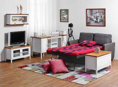 Laulumaa Huonekalut - Opiskelijan huone - Laulumaa Sara® - valkoinen / antiikki Decor, Furniture, Toddler Bed, Home Decor, Bed