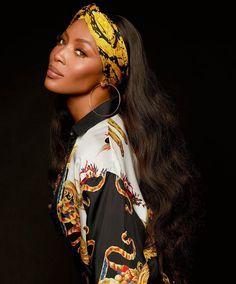 Naomi Campbell for S Moda January 2018 by Cuneyt Akeroglu