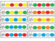 Rapid Automatic Naming Trial and Tracking Sheets Motor Skills Activities, Math Activities, Folder Games, File Folder, Baby Wipes Container, Busy Boxes, Montessori Math, Games For Toddlers, Chenille