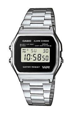Casio Armbanduhr  A158WEA-1EF mit 100 Tagen Rückgabe und Tiefpreisgarantie für nur 34,90 EUR bei Uhren4You.de bestellen
