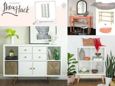Don't miss these genius Ikea hacks that are cheap & easy to recreate. Amazing DIY furniture ideas for every room of your house to save you thousands! Plus..