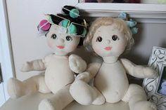 Restoring my child dolls