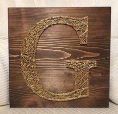 Gold letter G, Wedding Gift ��❤️ #stringart #handmade  #nailart #threadart  #stringandnails #kiwistrings  #walldecor #wallart #gallerywall #homedecor  #woodsigns #signmaker #etsyseller #etsy #handmadeart  #wedding  #weddinggift  #blockletters #monogram #initial #letterg  #gold  #goldstrings #etsyshop #shopetsy #shophandmade http://gelinshop.com/ipost/1523644737558201097/?code=BUlEtDyDMMJ