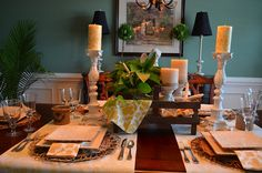 A Southern Blossom: Summer Tablescape
