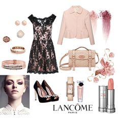 Pink, created by #gonzalez-andrea-lorena on #polyvore. #moda #style ISSA London Miu Miu