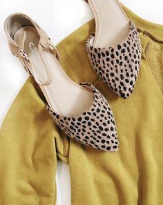 Leopard pointy toed shoes OMG shopriffraff.com